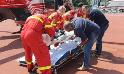 Intervenție aero-medicală SMURD Soroca – Chișinău